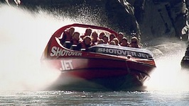 Shotover Jet In Queenstown New Zealand