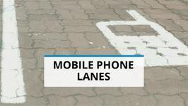 Technological Segregation- Mobile Phone Lanes