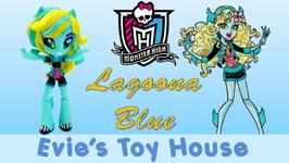 Monster High Lagoona Blue Custom My LIttle Pony Equestria Girls Mini Doll Tutorial