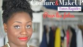 Makeup Et Coiffure Rapides Pour Les Fetes
