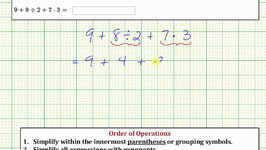 OrderOfOperationsWholeNumbers Evaluate an Expression Using the Order of Operations: ab/cdf