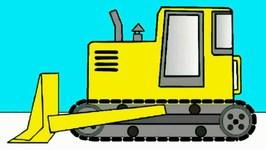 Kids Learn Colours  Trucks And  Excavators