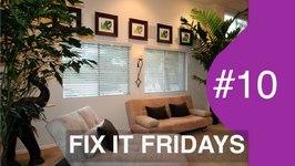 Living Room Weekend Makeover  Interior Design FIF