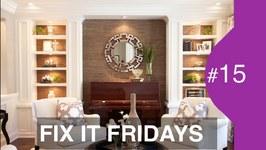 Interior Design  Beautiful Living Room Makeover  FIF  15