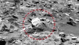 Gods Face Spotted on Mars By Alien Watchers