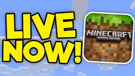 LIVESTREAMING RIGHT NOW- ENDED-- Minecraft PE On Shou.TV - Minecraft PE -Pocket Edition