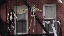 NYC Apartment Building Gets Decked Out For Halloween
