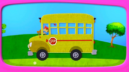 SCHOOL Bus  Crane   Dump Truck - Zeem Zoom Cartoons For Children