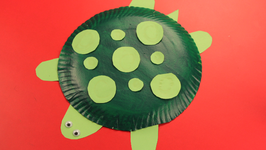 Paper Plate Turtle & Paper Plate Turtle Video by Happy Crafts | fawesome.tv