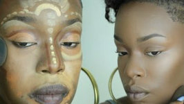 Color Correction African Mask