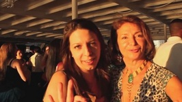 New York City - Mickela Boards The Brazilian Cruise