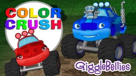 Monster Trucks Crush Some Colors