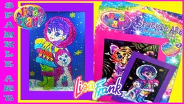 Lisa Frank Sparkle Art - Dollar Tree Haul Find Toy Box Magic