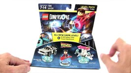 LEGO Dimensions Back to the Future Level Pack Toy Review-71201
