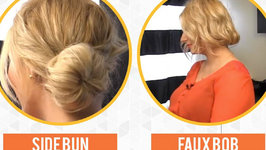 3 New Ways to use the Sock Bun