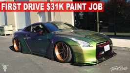 First Drive - Liberty Walk Gtr 31K Paint Job