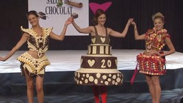 Delicious Edible Designs at Chocolate Fashion Show