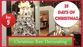 10 Steps To Decorating A Beautiful Christmas Tree  5th Day Of Christmas 2015!
