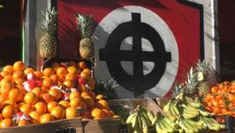 Fascist headquarters turned into successful fruit shop