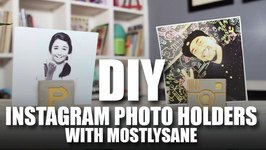 Mad Stuff With Rob - DIY Instagram Photo Holders feat. Mostly Sane  Room Decor
