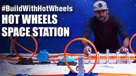 Mad Stuff With Rob - BuildWithHotWheels - Space Station  Hot Wheels