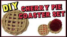 Cherry Pie Coaster DIY - Another Coaster Friday Craft Klatch