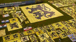 Flemish Far Right Set World Record with Flags