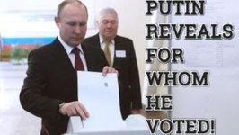 Putin Casts His Vote And Reveals For Whom He Voted In The Russian Presidential Elections