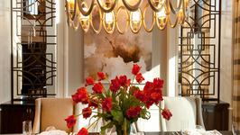 Interior Design with Silk Flowers