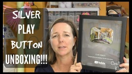 Craft Klatch YouTube Silver Button Unboxing!