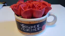 Easy Teacher Gift Idea - Dollar Tree