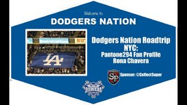 Dodgers Nation Road Trip NYC: Pantone 294 Fan Profile