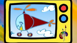 Learn To Draw A Helicopter In English For Kids