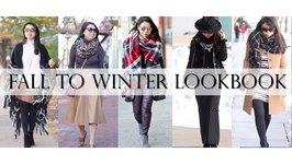 7 Fall to Winter Fashion Lookbook