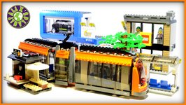 Lego City Square Stop Motion Review 60097  ALEXSPLANET