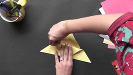Origami - Origami in Sindhi - How to Make a Butterfly