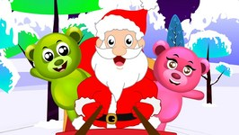 Jingle Bells - Christmas Songs For Kids - Gummy Bear Santa funny