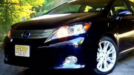 2010 Lexus HS250h Review
