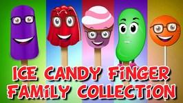 Finger Family Medley  5 Ice Cream Finger Family Songs  Candy Finger Family Rhymes