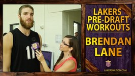 Lakers Pre-Draft Workout: Brendan Lane