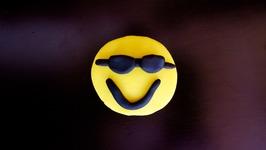Play-Doh Sunglasses Emoji
