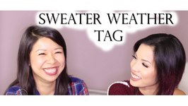 Sweater Weather Tag with Saammage