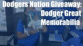 Dodgers Nation Giveaway: Dodger Great Memorabilia