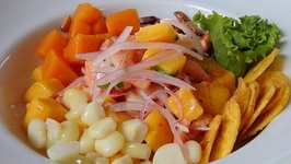 Eating Ceviche In Lima - Peru