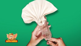 Learn the Fan Napkin Fold
