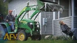 Tractor Prank - Prank