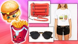 Shopkins Summer BBQ Lookbook - Shopkins Style - Fiona Fries, Soda Pops, Cripsy Chip and More