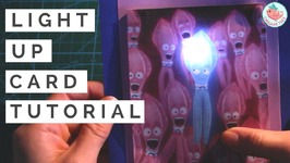 Paper Craft Circuits  Light Up Card Tutorial with Parallel Circuits & LEDs  SING Movie Squid Card