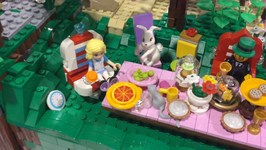 Disney LEGO MOC with Merida, Alice in Wonderland, Rapunzel, Snow White, Ariel and MORE!