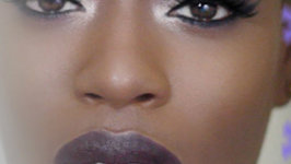 Winter Makeup - Dark Skin And Dark Lips